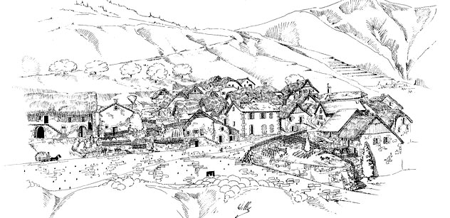 Agnielles galerie photo - Village dessin ...